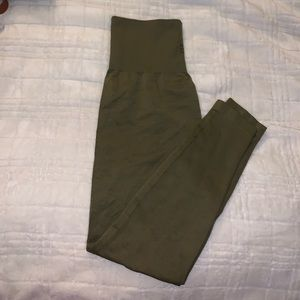 Jed north olive green leggings